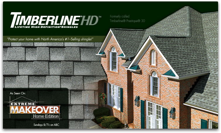 GAF Timberline High Definition installed by Champion Forest Exteriors in Houston and Spring Texas