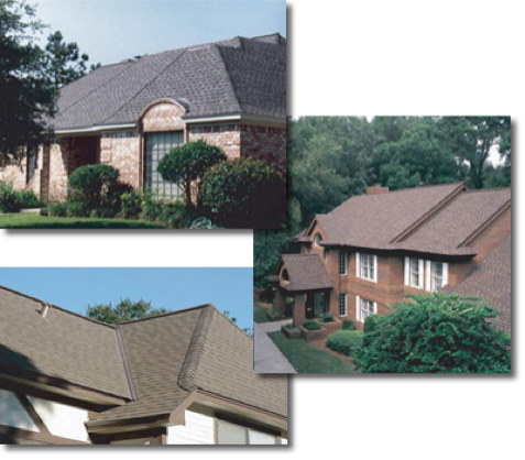 GAF Roofing installed by Champion Forest Exteriors in Houston and Spring Texas